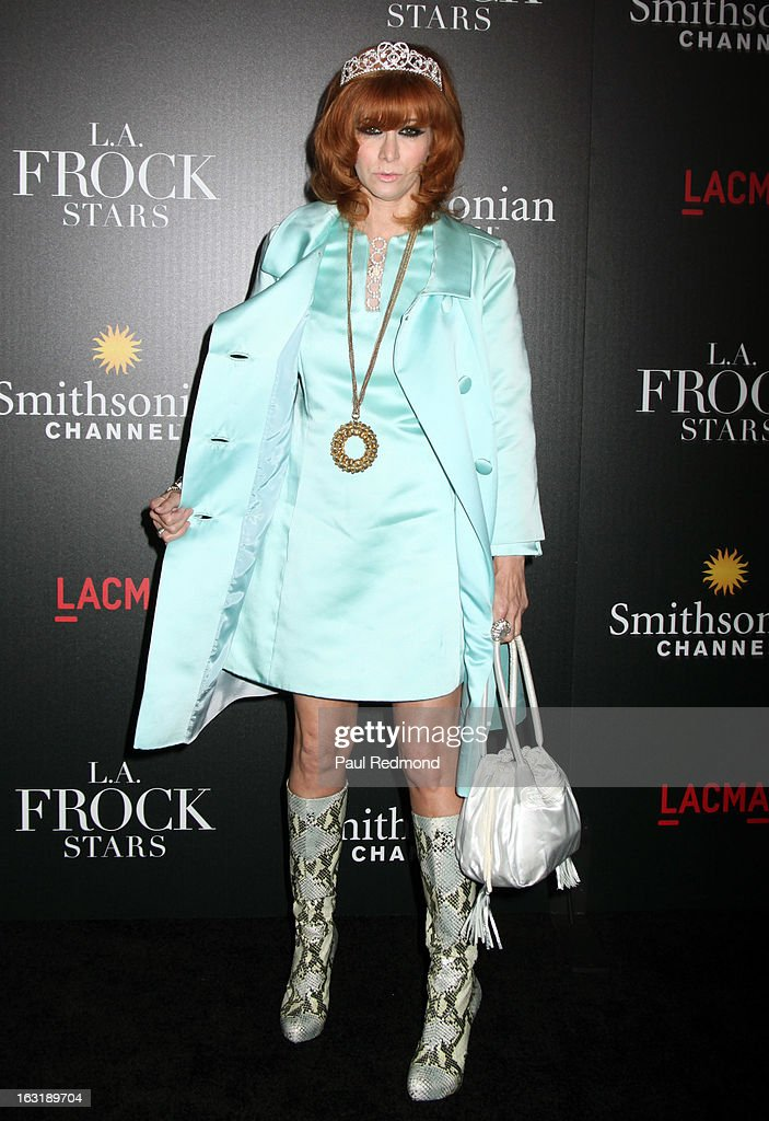<a gi-track='captionPersonalityLinkClicked' href=/galleries/search?phrase=Linda+Ramone&family=editorial&specificpeople=5476133 ng-click='$event.stopPropagation()'>Linda Ramone</a> arrives at 'L.A.Frock Stars' - Los Angeles Screening at LACMA on March 5, 2013 in Los Angeles, California.