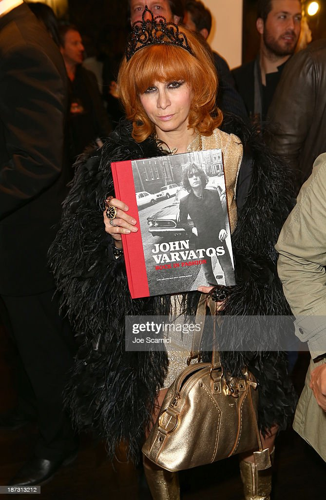 Linda Ramone attends the 'John Varvatos: Rock In Fashion' book launch celebration held at John Varvatos Los Angeles on November 7, 2013 in Los Angeles, California.