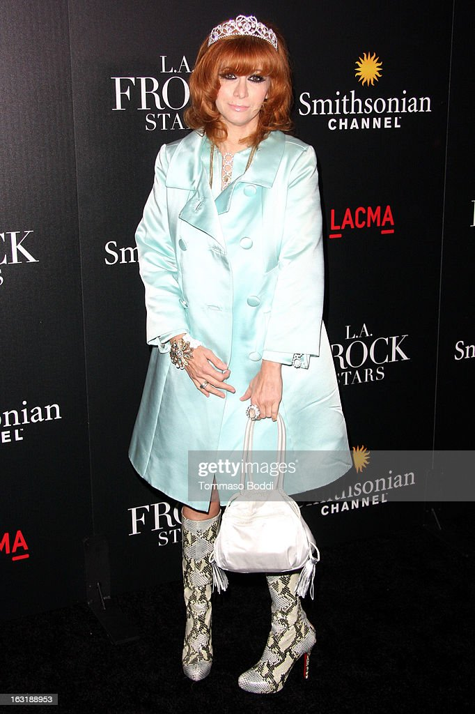 Linda Ramone attends the 'L.A.Frock Stars' Los Angeles screening and party held at the LACMA on March 5, 2013 in Los Angeles, California.