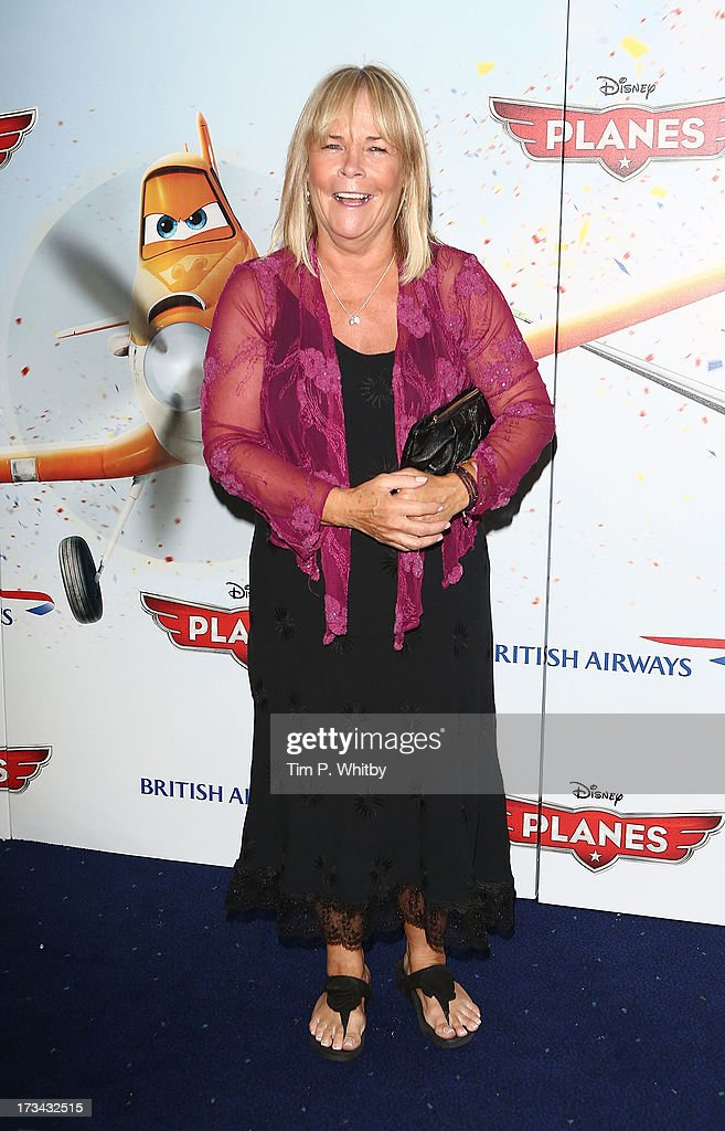 <a gi-track='captionPersonalityLinkClicked' href=/galleries/search?phrase=Linda+Robson&family=editorial&specificpeople=159565 ng-click='$event.stopPropagation()'>Linda Robson</a> attends a special screening of Disney's 'Planes' at Odeon Leicester Square on July 14, 2013 in London, England.