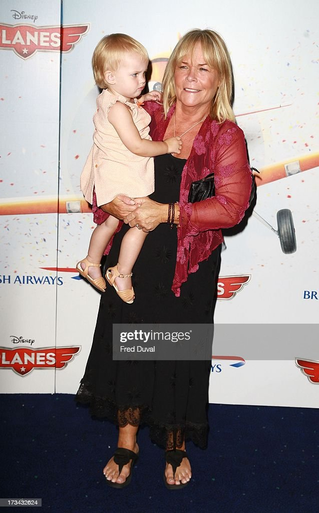 <a gi-track='captionPersonalityLinkClicked' href=/galleries/search?phrase=Linda+Robson&family=editorial&specificpeople=159565 ng-click='$event.stopPropagation()'>Linda Robson</a> attends special screening of 'Planes' at Odeon Leicester Square on July 14, 2013 in London, England.