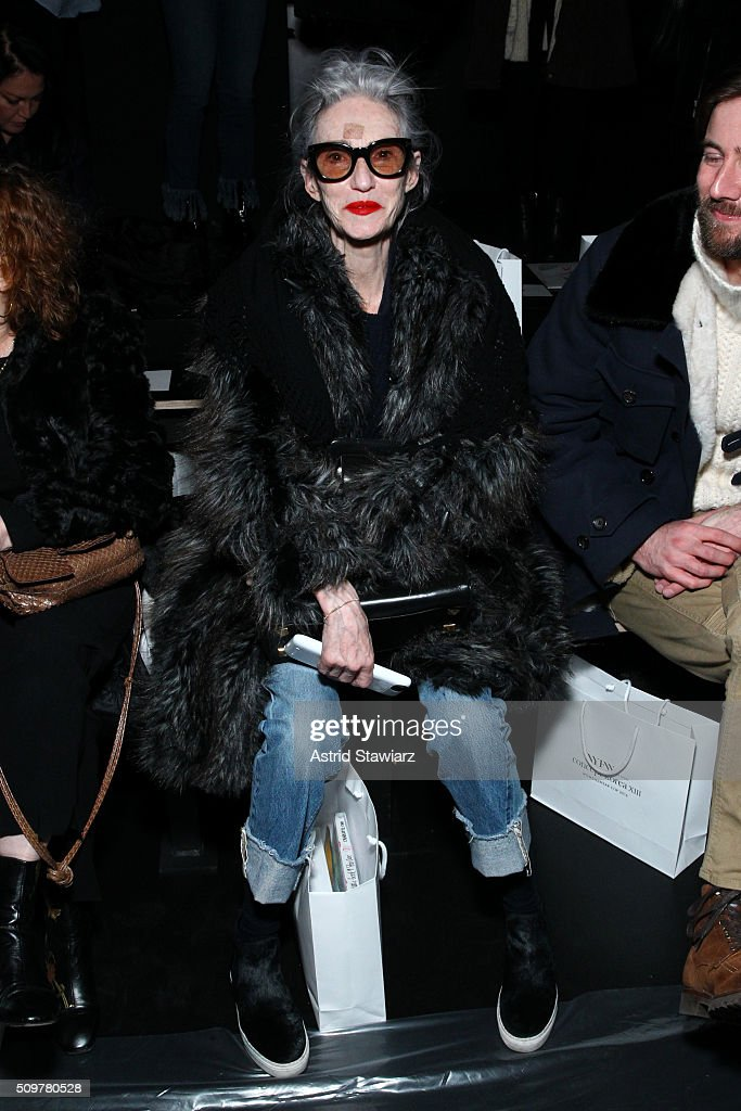 Linda Rodin attends the Concept Korea Fall 2016 fashion show during New York Fashion Week: The Shows at The Dock, Skylight at Moynihan Station on February 12, 2016 in New York City.