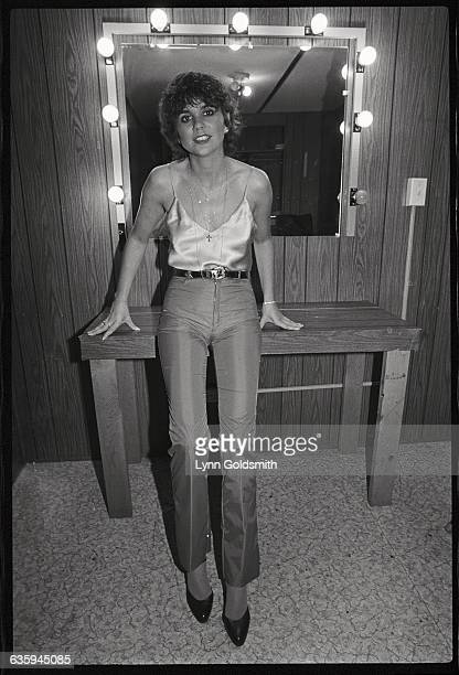 Linda Ronstadt in Her Dressing Room