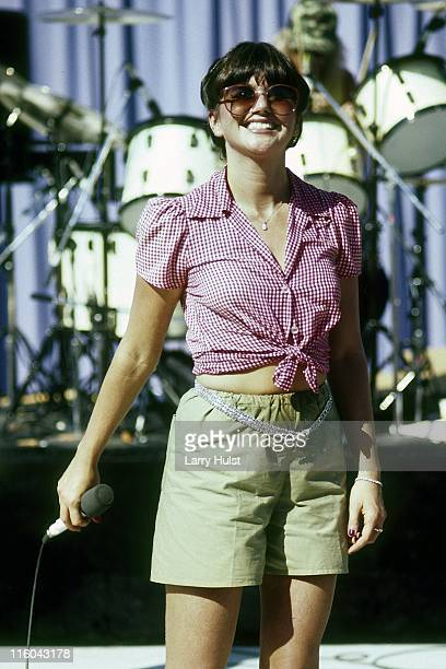 Linda Ronstadt performs at Mountain Aire in Angels Camp California on June 09 1979