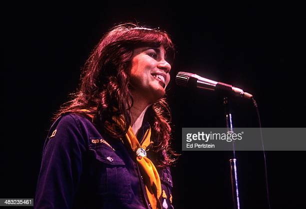Linda Ronstadt performs at the Greek Theater on September 17 1977 in Berkeley California