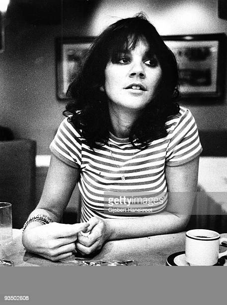 Linda Ronstadt posed in Amsterdam Netherlands in 1976