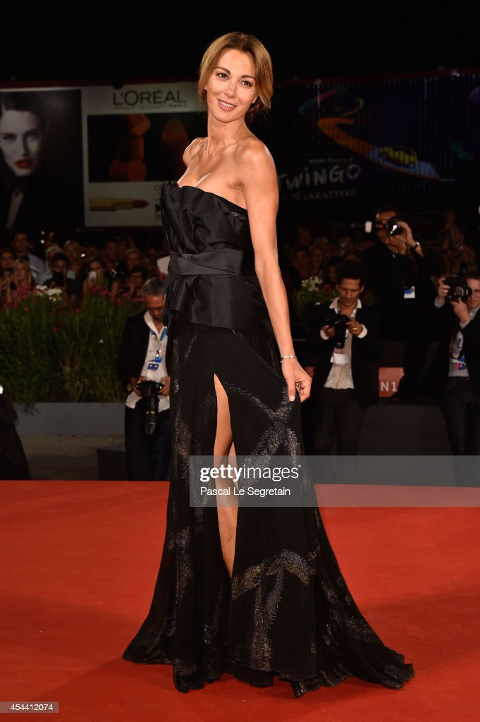 Linda Santaguida attends 'The Humbling' premiere during the 71st Venice Film Festival on August 30, 2014 in Venice, Italy.