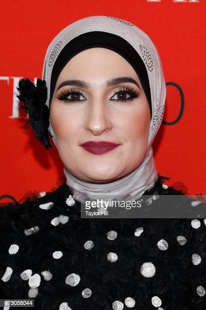 Linda Sarsour attends the 2017 Time 100 Gala at Jazz at Lincoln Center on April 25 2017 in New York City