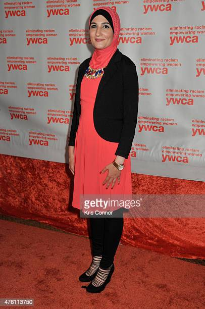 Linda Sarsour attends the YWCA USA Women of Distinction Gala at the Grand Hyatt Washington DC on June 5 2015 in Washington DC
