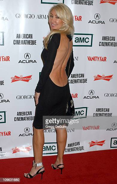 Linda Thompson during 21st Annual American Cinematheque Award Honoring George Clooney Arrivals at Beverly Hilton Hotel in Beverly Hills California...