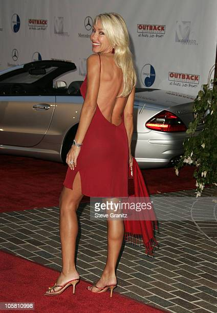 Linda Thompson during 6th Annual MercedesBenz DesignCure at Home of Sugar Ray and Bernadette Leonard in Pacific Palisades California United States