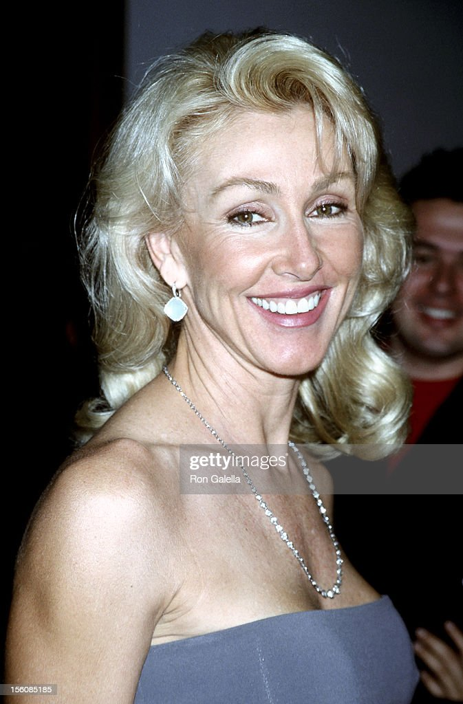 Linda Thompson during WB Network All Star Party at Il Fornaio Restaurant in Pasadena, California, United States.