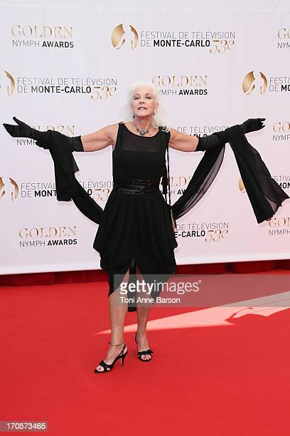Linda Thorson attends the closing ceremony of the 53rd Monte Carlo TV Festival on June 13 2013 in MonteCarlo Monaco
