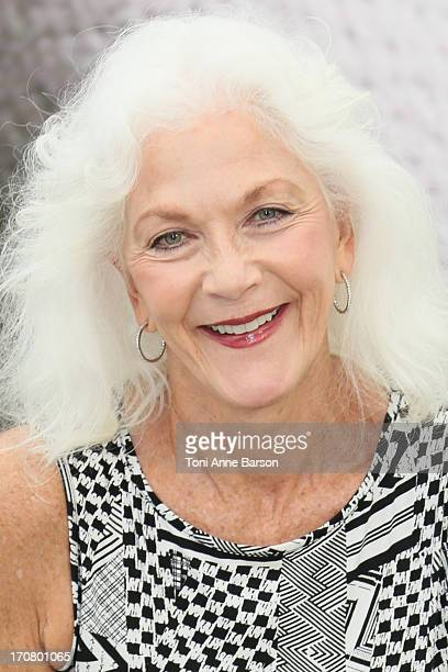 Linda Thorson poses at a photocall during the 53rd Monte Carlo TV Festival on June 12 2013 in MonteCarlo Monaco