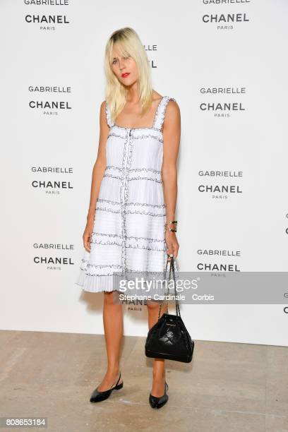 Linda Tol attends the launch party of Chanel's new perfume 'Gabrielle' as part of Paris Fashion Week on July 4 2017 in Paris France