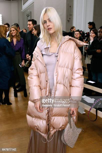Linda Tol attends the Nina Ricci show as part of the Paris Fashion Week Womenswear Fall/Winter 2017/2018 on March 4 2017 in Paris France