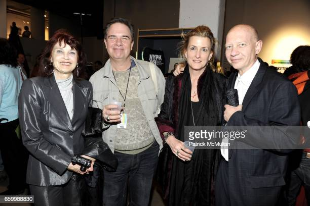 Linda Troeller Robert A Schaefer Jr Felicia Murray and Lothar Troeller attend Book Signing Event for BOOK SOUP at Powerhouse Arena on May 14 2009 in...