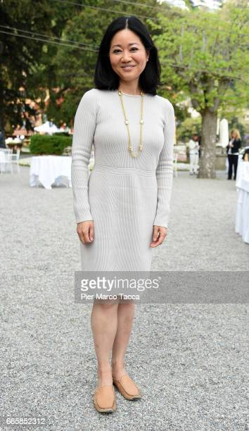 Linda Yueh attends 'Lo Scenario dell'Economia e della Finanza' forum at Villa d'Este Hotel on April 7 2017 in Como Italy 'The Outlook for the economy...