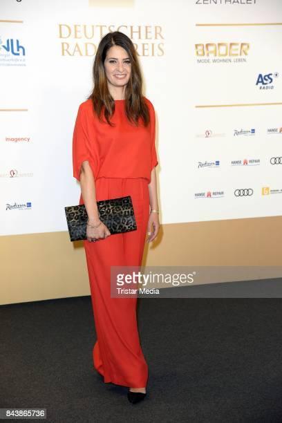 Linda Zervakis attends the Deutscher Radiopreis at Elbphilharmonie on September 7 2017 in Hamburg Germany