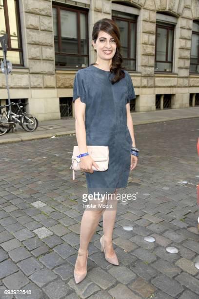 Linda Zervakis attends the Studio Hamburg Nachwuchspreis 2017 at Thalia Theater on June 20 2017 in Hamburg Germany