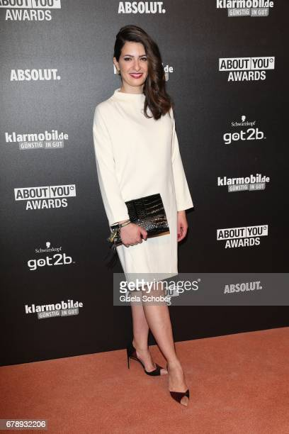 Linda Zervakis during the ABOUT YOU AWARDS at the 'Mehr Theater' in Hamburg on May 4 2017 in Hamburg Germany