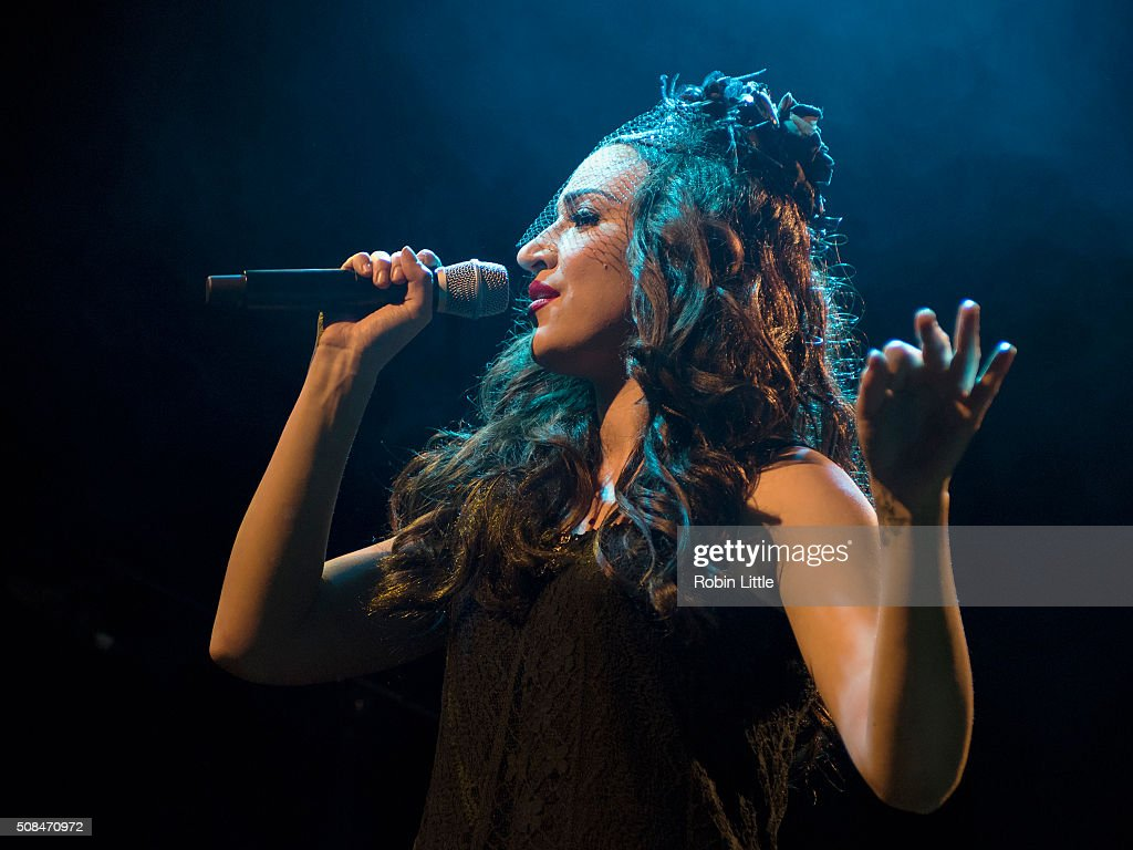 Lindi Ortega performs at Islington Assembly Hall on February 4 2016 in London England