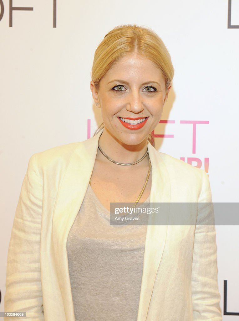 Lindsay Albanese attends the LOFT Pop-Up On Robertson event on March 12, 2013 in Los Angeles, California.