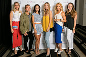 Lindsay Albanese Paolo Nieddu Cara Santana Catt Sadler Helen Berkun and Alaina Kaczmarski attend the Simply Stylist Chicago Fashion Beauty Conference...