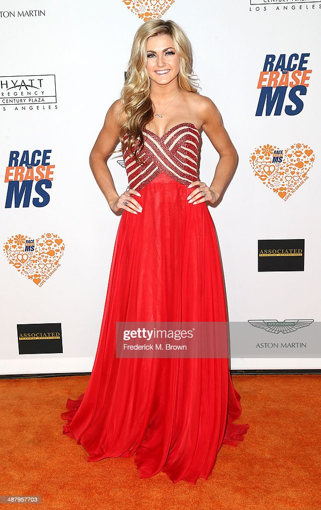 <a gi-track='captionPersonalityLinkClicked' href=/galleries/search?phrase=Lindsay+Arnold&family=editorial&specificpeople=10536483 ng-click='$event.stopPropagation()'>Lindsay Arnold</a> attends the 21st Annual Race to Erase MS at the Hyatt Regency Century Plaza Hotel on May 2, 2014 in Century City, California.