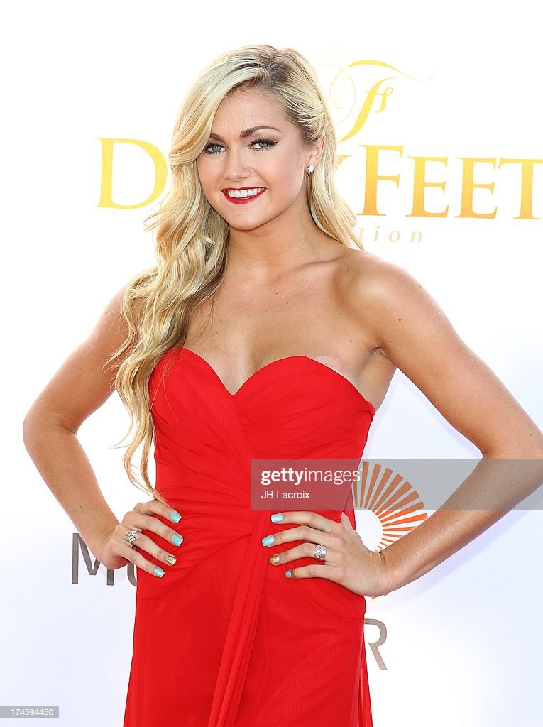 Lindsay Arnold attends the 3rd Annual Celebration Of Dance Gala held at Dorothy Chandler Pavilion on July 27, 2013 in Los Angeles, California.