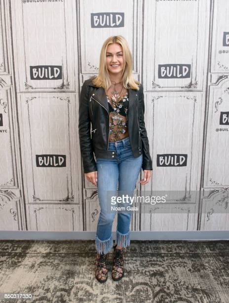 Lindsay Arnold visits Build Series to discuss the 25th season of 'Dancing With The Stars' at Build Studio on September 20 2017 in New York City