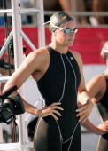 Lindsay Benko took second in the Women's 200m Freestyle Final at the Olympic Swim Team Trials at the Charter All Digital Aquatic Centrein Long Beach...