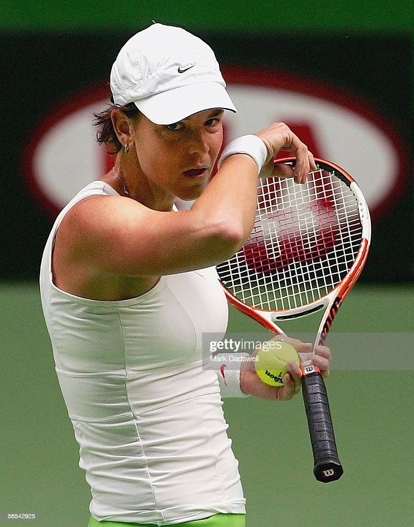 s et images de Lindsay Davenport Australian Open Practice
