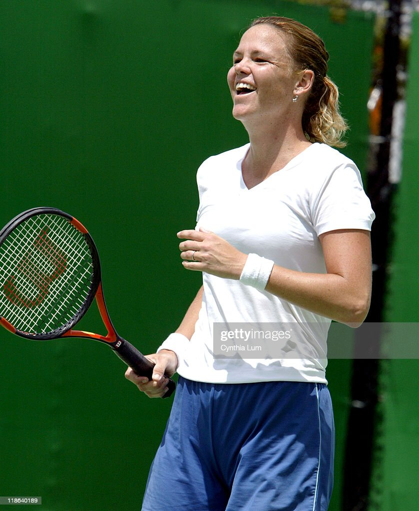 2004 Australian Open Lindsay Davenport The Practice Court