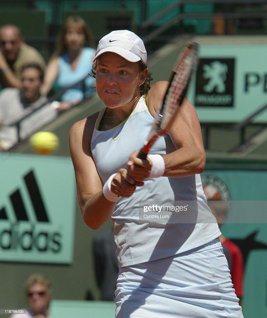 2005 French Open - Women's Singles - Third Round - Virginie Razzano vs Lindsay