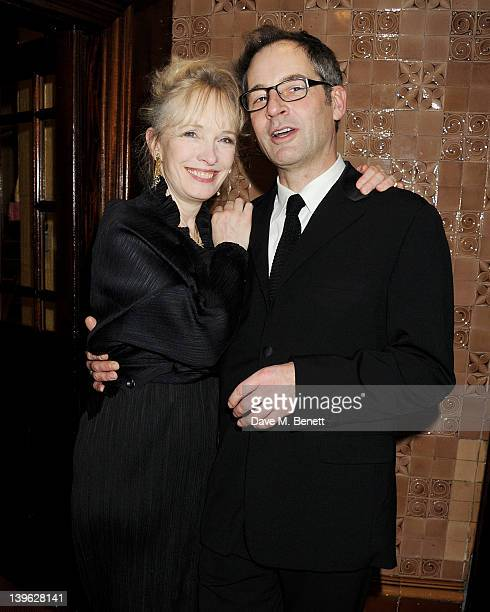 Lindsay Duncan and Jeremy Northam attend an after party celebrating the Gala Performance of Noel Coward's 'Hay Fever' at the Royal Horseguards Hotel...