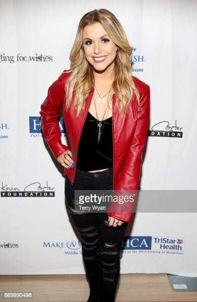 Lindsay Ell attends the 16th Annual Waiting for Wishes Celebrity Dinner Hosted by Kevin Carter Jay DeMarcus on April 18 2017 in Nashville Tennessee