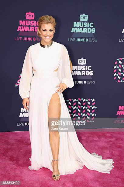 Lindsay Ell attends the 2016 CMT Music awards at the Bridgestone Arena on June 8 2016 in Nashville Tennessee