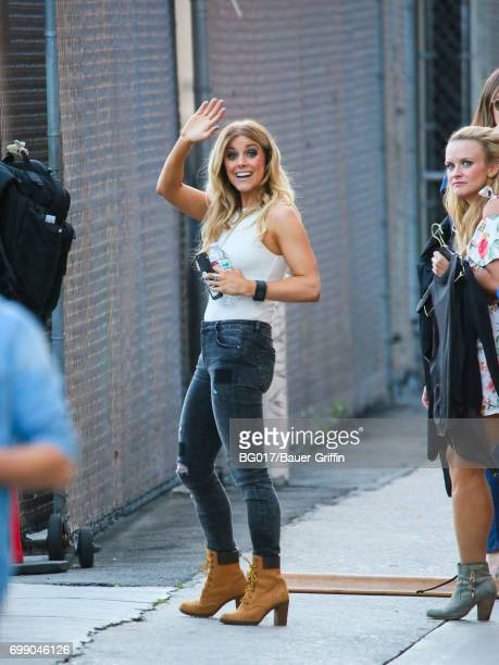 Lindsay Ell is seen at 'Jimmy Kimmel Live' on June 20 2017 in Los Angeles California