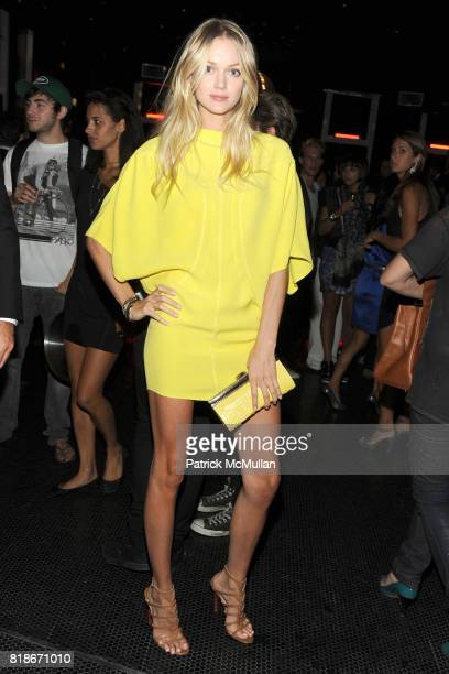 Lindsay Ellingson attends SALVATORE FERRAGAMO ATTIMO Launch Event at The Standard Hotel on June 30 2010 in New York City