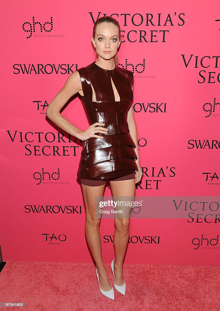 Lindsay Ellingson attends the 2013 Victoria's Secret Fashion after party at TAO Downtown on November 13, 2013 in New York City.