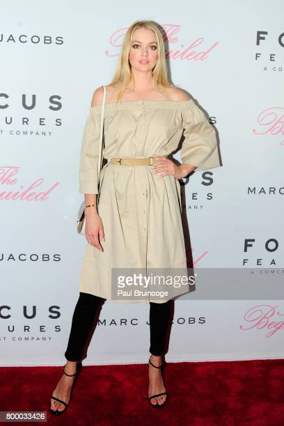 Lindsay Ellingson attends 'The Beguiled' New York Premiere Arrivals at Metrograph on June 22 2017 in New York City