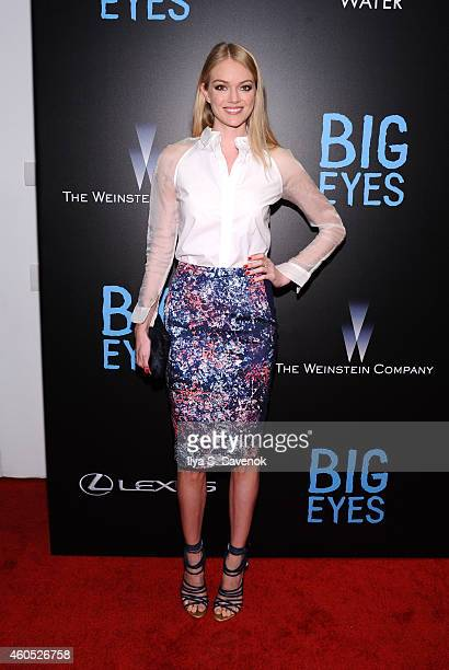 Lindsay Ellingson attends The New York Premiere Of BIG EYES at Museum of Modern Art on December 15 2014 in New York City