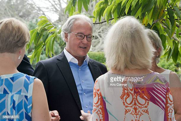 Lindsay Jones Jim Wendorf Barbara Wendorf and Sally Quinn attend a cocktail party introducing Friends of Quinn Understood The National Center for...