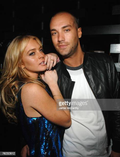 Lindsay Lohan and Calum Best at the Maxim Hot 100 event *EXCLUSIVE*