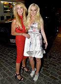 Lindsay Lohan and Dina Lohan sighting on September 14 2011 in New York City
