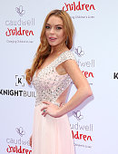 Lindsay Lohan arrives for the 2016 Butterfly Ball at The Grosvenor House Hotel on June 22 2016 in London England