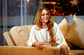 Lindsay Lohan attends a photocall for 'Speed The Plow' at Playhouse Theatre on September 30 2014 in London England