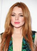 Lindsay Lohan attends Gabrielle's Gala at Old Billingsgate Market on May 7 2014 in London England