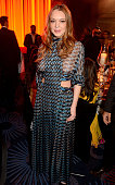 Lindsay Lohan attends the 6th Annual Asian Awards at The Grosvenor House Hotel on April 8 2016 in London England